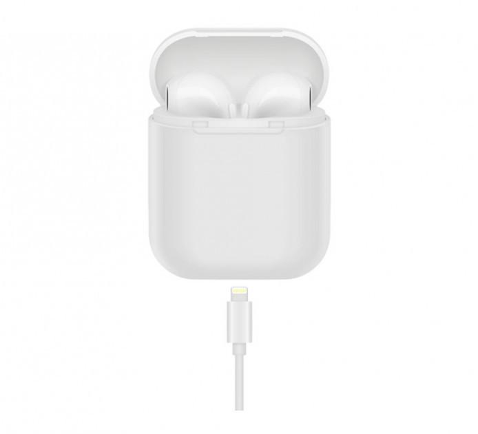 Беспроводные Bluetooth наушники HBQ I8 mini TWS Белые