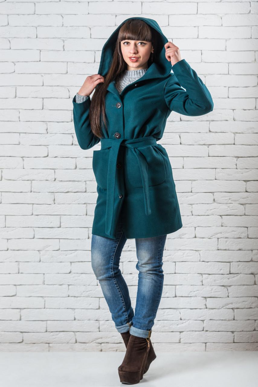 Модные женские пальто молодежное  42-48 волна