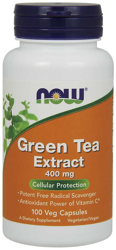NOW Foods Green Tea Extract 400 mg 100 VCaps