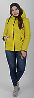 Куртка женская весенняя Aziks м-180 желтая