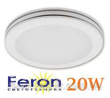 Светодиодный светильник Feron AL555 20W 5000K потолочный круглый