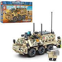 Детский конструктор военная машина бронетранспортёр