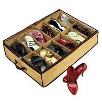 Компактный органайзер для хранения обуви Shoes under server, сумка для обуви