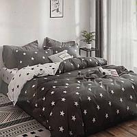 Качественное постельное бельё с простынью на резинке (евро)