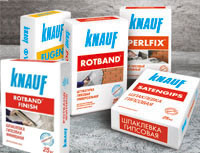Cухие смеси Knauf