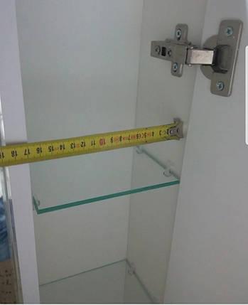 """Дзеркало у ванну кімнату з малюнком  """" Ромашка"""", фото 2"""