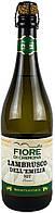 Вино полуигристое Fiore di Cremona Lambrusco Dell`Emilia IGT Bianco белое полусладкое 0.75 л Италия