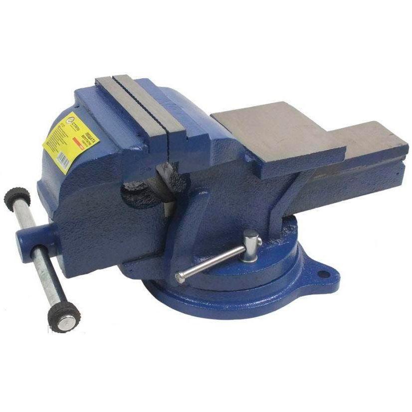 Тиски станочные поворотные 14 кг, 150 мм, Сталь PROFI 47129 (87468)