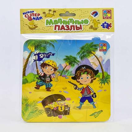 """Магнитные пазлы """"Пираты"""" - VT 3204-09 (рус) (60) """"Vladi Toys"""""""