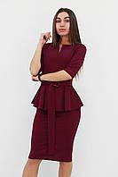 S, M, L, XL / Жіноче класичне плаття Venera, марсала