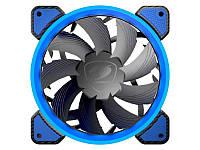 Вентилятор Cougar Vortex FB 120 Blue, 120х120х25 мм, 3pin, 4pin, черный