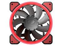 Вентилятор Cougar Vortex FR 120 Red, 120х120х25 мм, 3pin, 4pin, черный