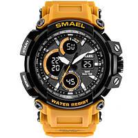 Smael 1708 оранжевые мужские спортивные  часы, фото 1
