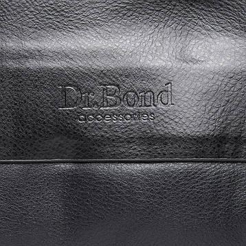 Сумка Чоловіча Планшет штучна-шкіра DR. BOND GL 314-2 чорна, фото 2