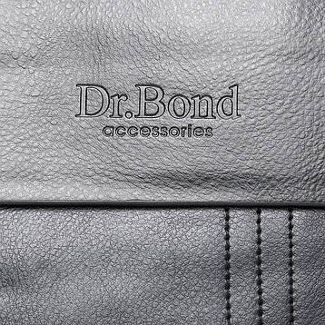 Сумка Чоловіча Планшет штучна-шкіра DR. BOND GL 305-1 чорна, фото 2