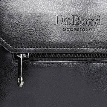 Сумка Мужская Планшет иск-кожа DR. BOND GL 213-1 черная, фото 2