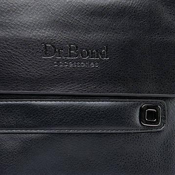 Сумка Мужская Планшет иск-кожа DR. BOND GL 512-2 черная, фото 2