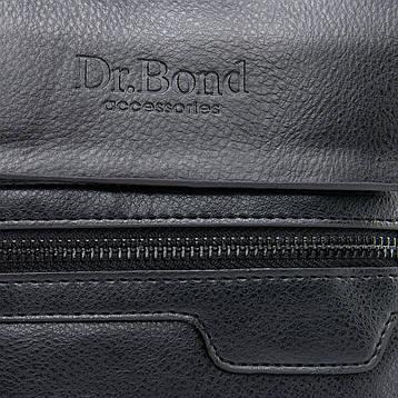 Сумка Мужская Планшет иск-кожа DR. BOND GL 303-1 черная, фото 2