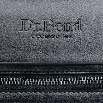 Сумка Мужская Планшет иск-кожа DR. BOND GL 317-2 черная, фото 2