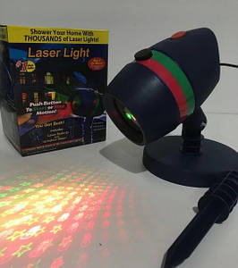 Диско LASER Star Shower Lazer Light+Cassete 8003
