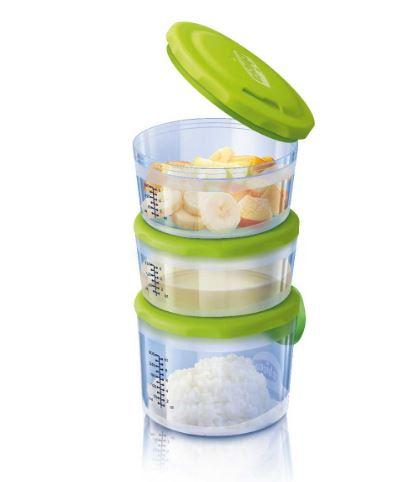 Набор контейнеров Easy Meal (3 шт) Chicco