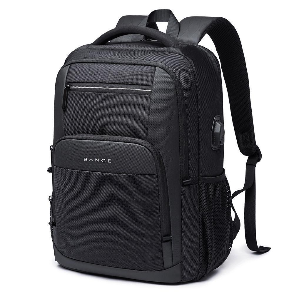 """Классический дорожный рюкзак Bange BG1921 для ноутбука до 17"""", влагозащищённый, с USB портом, 28л"""