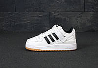 Мужские кроссовки Adidas Forum White, фото 1
