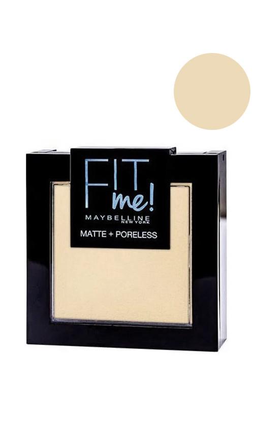 Maybelline Fit me Matte&Poreless Powder Пудра для обличчя 105 natural