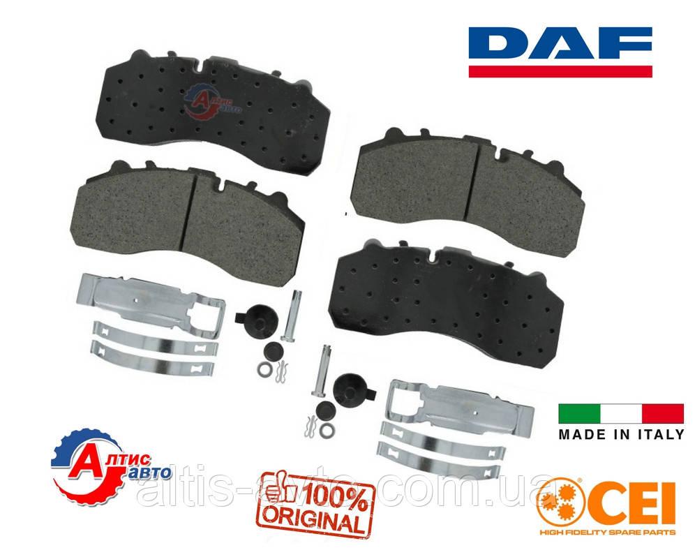 Гальмівні колодки DAF CF76 85 75, LF 55 XF 95 105 CEI (система Knorr SN7) комплект 584.000