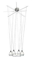 Люстра Linea Verdace LV 51064/NM