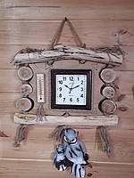 Часы настенные ручной работы