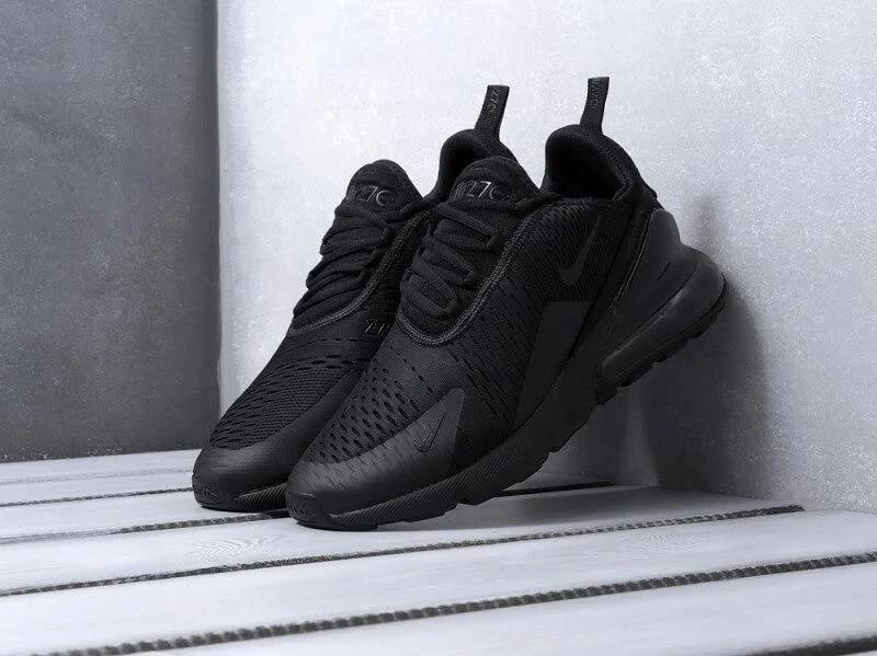 Мужские кроссовки Nike Air Max 270 Black / Найк Аир Макс 270 Черные