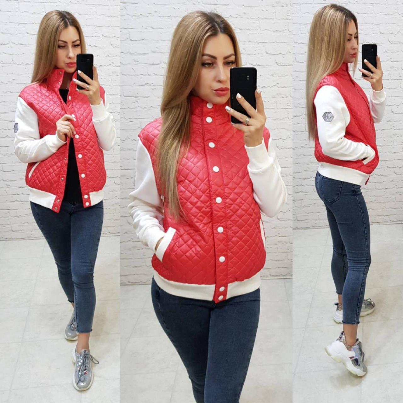 Куртка женская, модель 773, цвет - красный