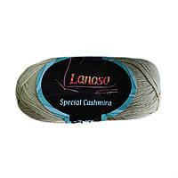 Пряжа Lanoso Special Cashmira 303 бежевая