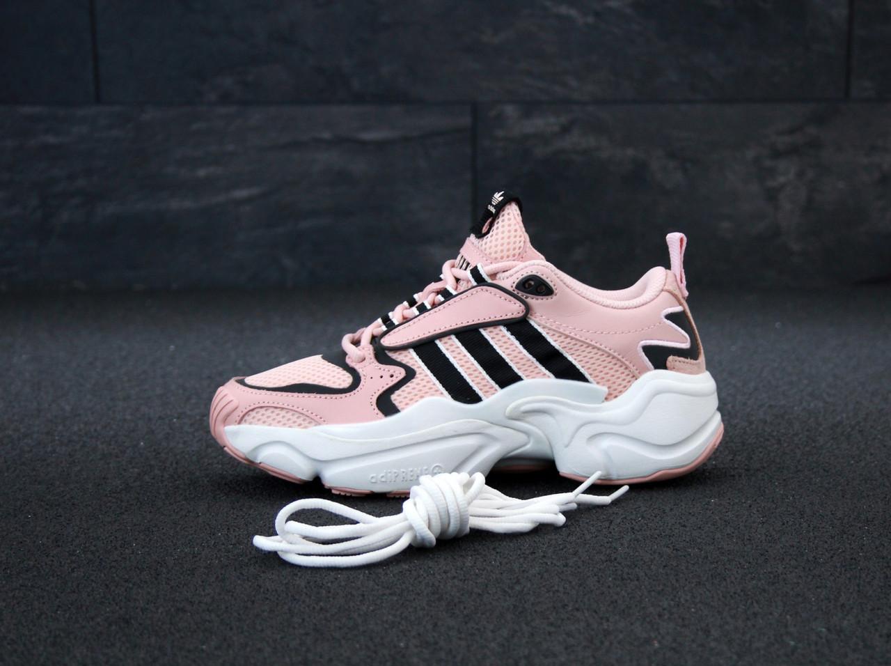 Женские кроссовки Adidas Consortium x Naked Magmur Runner, Реплика