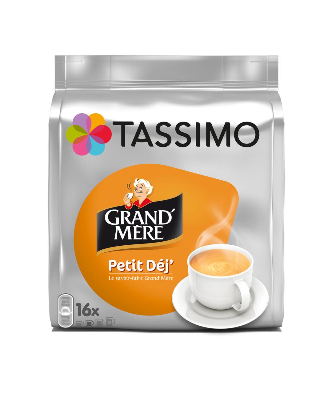 Кава в капсулах Тассимо - Tassimo Grand'Mère Petit Déjeuner