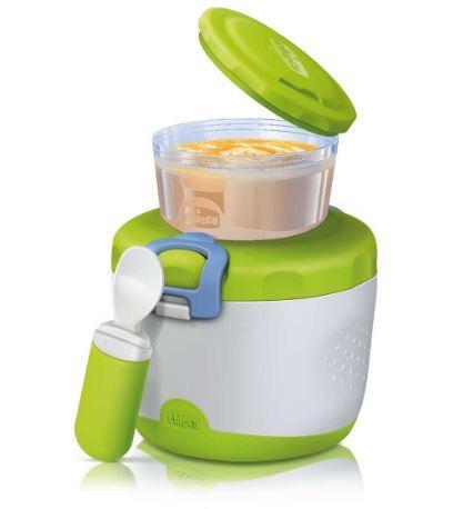 Набор Easy Meal: термоконтейнер, контейнер и ложка Chicco