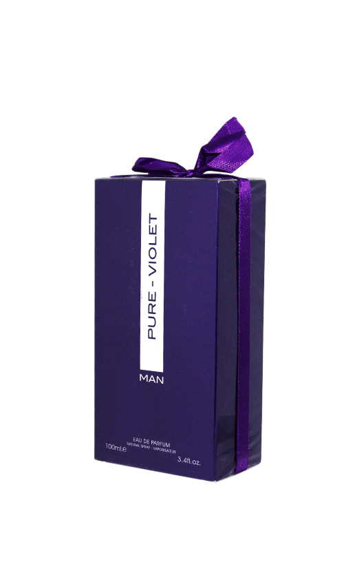 Парфюмированная вода Fragrance World PURE VIOLET MAN Ultraviolet для мужчин 100 мл Код 26121
