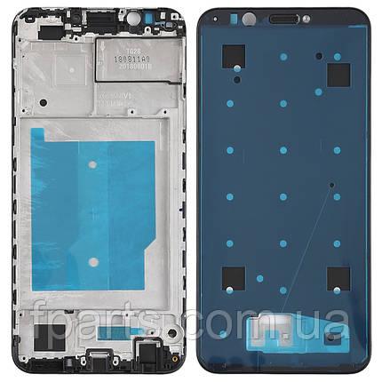 Рамка дисплея Huawei Y7 2018, Y7 Prime 2018 (Black), фото 2