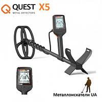 Металлоискатель Deteknix Quest X5. Гарантия 2 года. Оригинал США