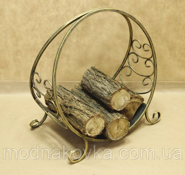 Подставка для дров металлическая  50х28х50 см. Дровница №4 малая
