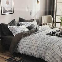 Двуспальное постельное бельё (простынь на резинке)