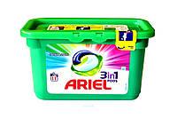 ARIEL 3in1 Kaps 11 Żel Color Аріель 3в1 11шт, капсули для прання кольорових тканин