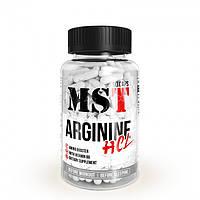 Аминокислоту MST Nutrition Arginine HCL 90 капсул