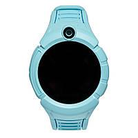 Детские умные часы UWatch Q610S Голубые