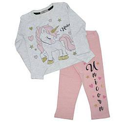 Детский трикотажный костюм для девочек ,1-2 лет (1 ед в уп)