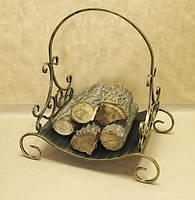 Дровница кованая. Подставка для дров №5, фото 1