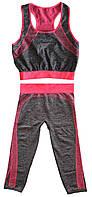 Костюм для фитнеса (Copper) одежда для спортзала Yoga Wear Suit Slimming фитнес костюм для спорта , Спортивная женская одежда и одежда для занятия