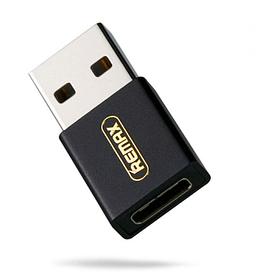 Адаптер Remax (OR) RA-USB3 Type-C -> USB черный