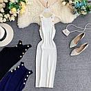 Платье резинка трикотажное с золотыми пуговицами, фото 7